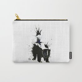 Skunk - Ink Blot Carry-All Pouch