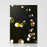 lantern Stationery Cards featuring Lantern by CHENG ZHI CHIAN