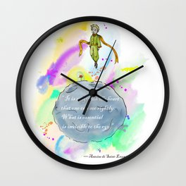 Little Prince World Wall Clock