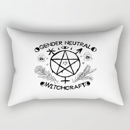 Gender Neutral Witchcraft Rectangular Pillow