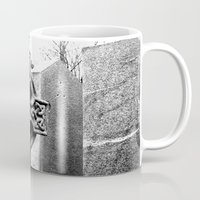 gothic Mugs featuring Gothic by Kim Ramage