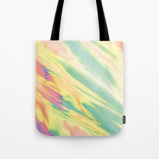IRIDESCENT RAINBOW WATER Tote Bag