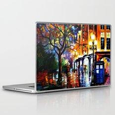 The Light Tardis Laptop & iPad Skin