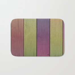 Wood Plank Colormix Bath Mat