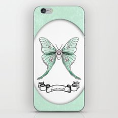 Actias luna iPhone & iPod Skin