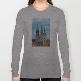 Croatia Skyline Long Sleeve T-shirt