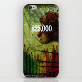 Plushes and monsters #11 iPhone Skin