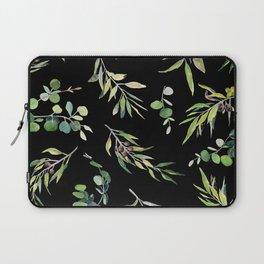 Eucalyptus and Olive Pattern  Laptop Sleeve