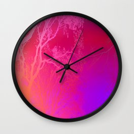 The Love of Trees. Wall Clock