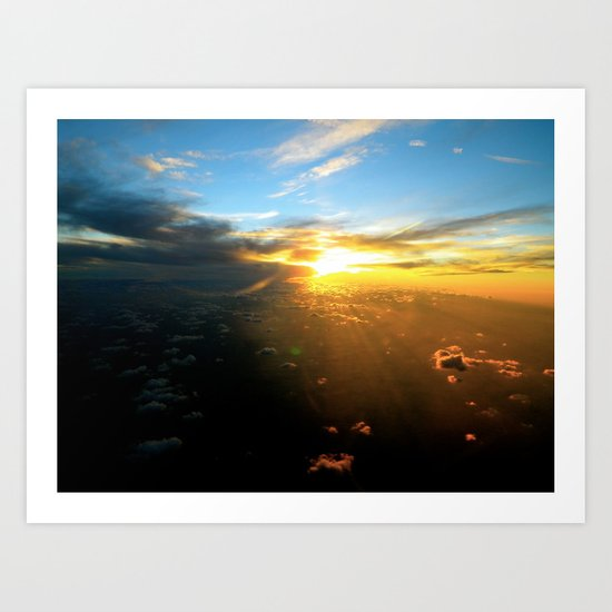 Above the Endless Sky Art Print