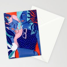 MEET ME AT THE POOL 4 Stationery Cards