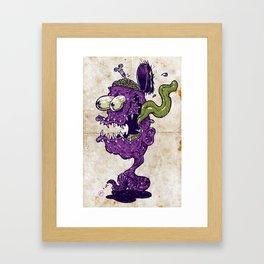 Worm Fink Framed Art Print