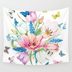 Spring is in the air #35 Wall Tapestry