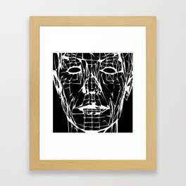 Electric Café Framed Art Print