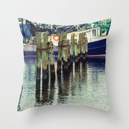 Breathe in the Salty Air Throw Pillow