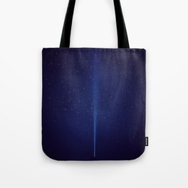 The Blue Sky (Color) Tote Bag