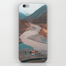 Mountains & Rivers iPhone Skin