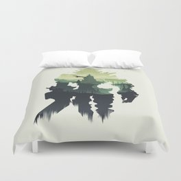 Shadow of the Colossus Duvet Cover