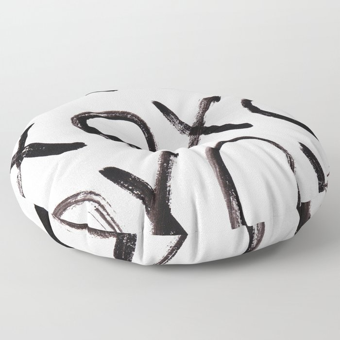 xo  Floor Pillow