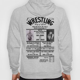 #13 Memphis Wrestling Window Card Hoody