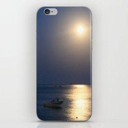 blue moon 4571 iPhone Skin