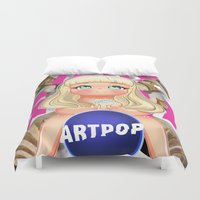 artpop Duvet Covers featuring ARTPOP Cover Chimiuzz style (original art) by Chimi-uzz