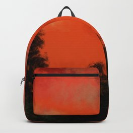 Coral sunrise Backpack