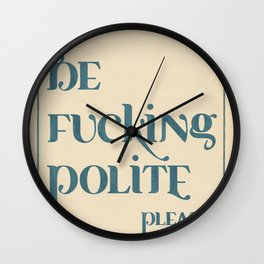 follow the instructions... Wall Clock