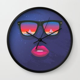 Sailing Dreams Wall Clock