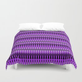 Stylish Chevron Dance Duvet Cover