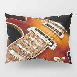 Sunburst Electric Guitar Pillow Sham