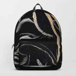 Moonlight (oil on canvas) Backpack