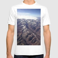 Beyond Andes White Mens Fitted Tee MEDIUM