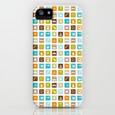 Travel Icons iPhone (5, 5s) Slim Case