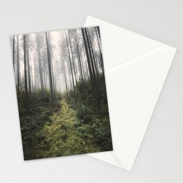 Unknown Road - landscape photography Stationery Cards