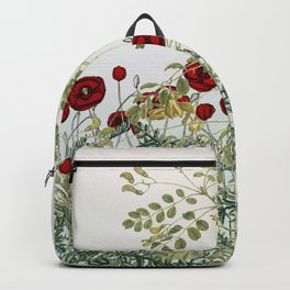 'Serenity only a deliberate hebitude' Backpack