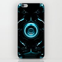 tron iPhone & iPod Skins featuring Tron  by Electra