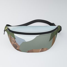 Awakening from the winter Fanny Pack