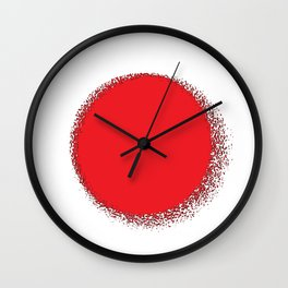 Fancy Flag: Japan Wall Clock