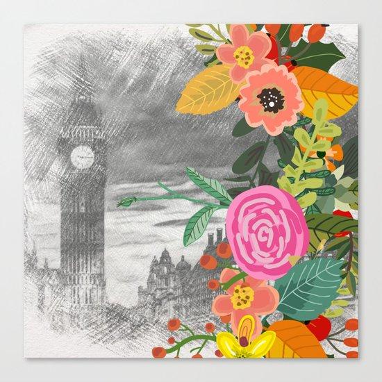Flowers bouquet #13 Canvas Print