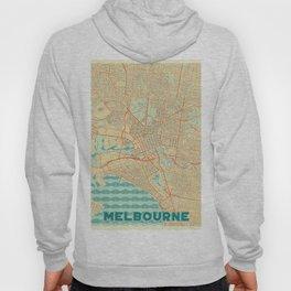 Melbourne Map Retro Hoody