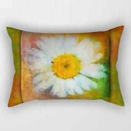 Daisy in Colors ~ Ginkelmier Inspired Rectangular Pillow