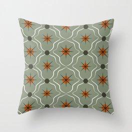 Retro Pattern 03 Throw Pillow