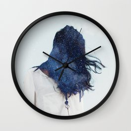 Lost on purpose Wall Clock