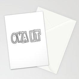Ova it! Stationery Cards