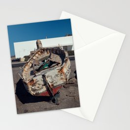 Old Fishing Boat Stationery Cards