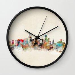 miami florida Wall Clock