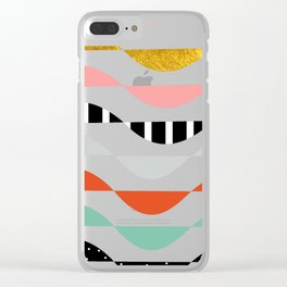 wonders of fall Clear iPhone Case