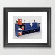 Baseball Worship Framed Art Print