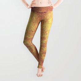 Incandescent material Leggings